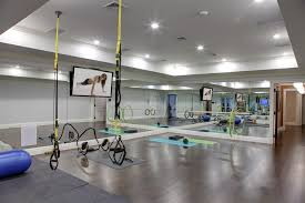 home gym lighting. gym home traditional with recessed lighting built in speakers s