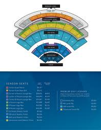 Tiaa Everbank Seating Chart Premium Seating Map Dailys Place