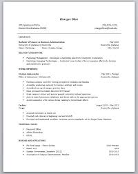 Resume Templates For No Work Experience Student Resume Templates No