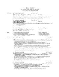 Satellite Engineer Sample Resume 13 For Engineering Students Civil
