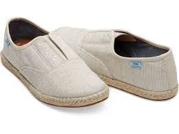 Tiny Toms Size Chart Inches Natural Yarn Dye Womens Palmera Slip Ons Toms Shoes Nz