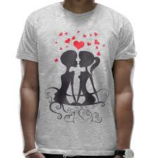 Bench T Shirt Design Amazon Com Love Couple On Bench With Hearts T Shirt Design