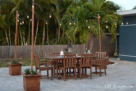 poles city farmhouse timaylenphotography com patio lighting options ideas diy how to hang outdoor string lights on stucco for small light