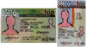 Forms State Voter Ohio Driver's Identification Of Examples Identification Interim Military Valid License Ids Documentation