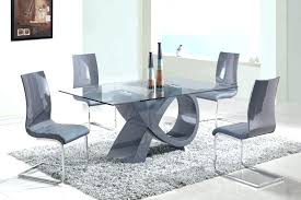Contemporary Glass Dining Room Table Modern Glass Dining Table Glass