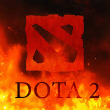wallpaper dota fire dota 2 logo images for desktop section