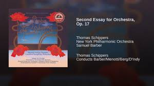 second essay for orchestra op  second essay for orchestra op 17