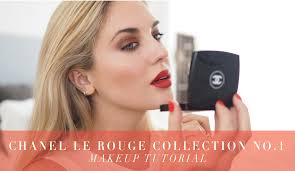 chanel le rouge no1 makeup tutorial collection reveal 1st look style lobster you