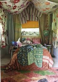 Gypsy Decor Bedroom Bohemian Gypsy Rooms Fabric Ceiling Patterns And Fabrics
