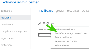 How To Change Office 365 Message Size Limit