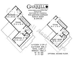 lakeview cottage house plan craftsman house plans Lake View Ranch House Plans lakeview cottage house plan 05357, optional 2nd floor plan Ranch House Plans with Basements