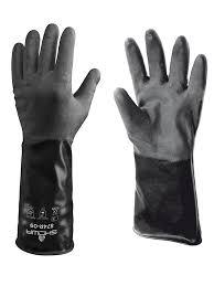 Butyl Glove Chemical Resistance Chart Showa 874r Showa Gloves