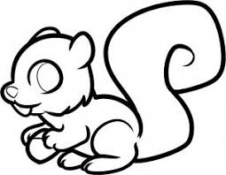 Small Picture How to draw how to draw a squirrel for kids Hellokidscom