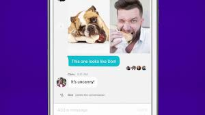 try the all new yahoo messenger