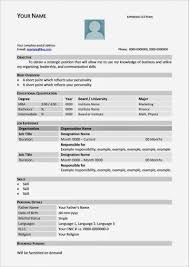 Tabular Cv Template Image Result For Student Cv Template Tabular Form In 2019