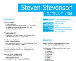 Resume In English Impressive How To Create A Great Web Designer R Sum And CV Smashing Magazine