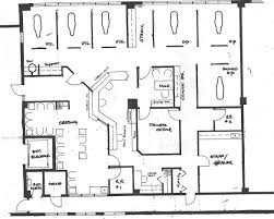the office floor plan. What Is The Average Square Footage Of Office Space Per Floor Plan