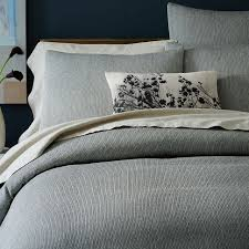 grey textured duvet cover the duvets