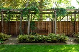contemporary japanese fence for residential home