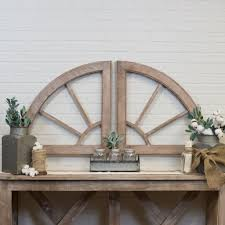 Kate & laurel all things decor. Add A Little Rustic Chic To Any Wall In Your Home With Our Fantastic Wood 2 Piece Cathedral Arched Wal Arched Wall Decor Wood Wall Decor Rustic Wood Wall Decor