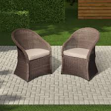 outdoor patio wicker chairs. holden 2-piece wicker patio dining chair set - threshold™ outdoor chairs e