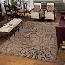 ina weavers grand comfort collection toro beige area rug 6 7 regarding 7 x 7 9
