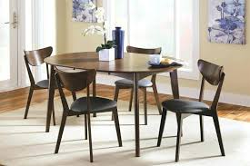 dark grey table and chairs dining