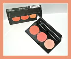 Details About Smashbox L A Lights Blush And Highlight Palette Culver City Coral Full Size New