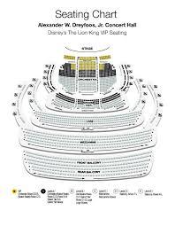 Kravis Center Dreyfoos Hall Seating Chart Qualified Kravis Center Seating Chart With Seat Numbers