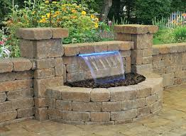 patio water features ideal feature for or outdoor living space patio water features r78