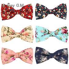 Suits <b>Cotton</b> Bow Ties For <b>Men Cravats Fashion</b> Adjustable Floral ...
