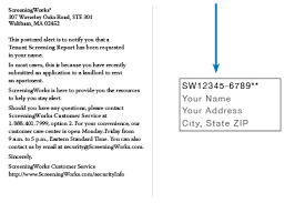Postcard How To Address Security Info Screeningworks