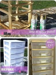 can i spray paint plastic plastic storage drawers
