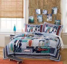 Best 25+ Teen boy bedding ideas on Pinterest   Teen boy bedrooms ... & Surfing surf board usa hawaiian teen boy bedding set queen full twin quilt Adamdwight.com