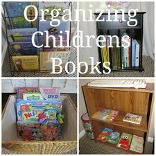 organizing childrens books