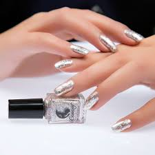 New Glitter Metal Nail Polish Metallic Shiny Mirror Lacquer Enamel ...