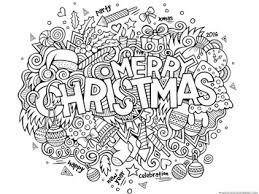 Small Picture Christmas Doodle Coloring Pages 1111