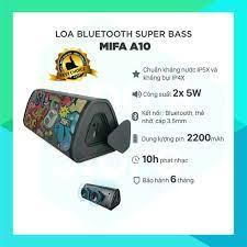 Mã 229ELSALE hoàn 7% đơn 300K] Loa Bluetooth MIFA A10 Super Bass - Best  choice cho dòng loa dưới 1 triệu