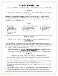 20 Resume For Cashier Job Brucerea Com
