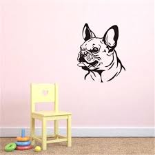 funny wall decals french bulldog funny wall decals puppy vinyl art decals removable wall stickers for funny wall decals