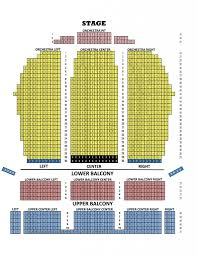Fox Theater Seating Chart Seating Chart