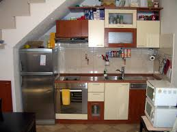 Apartment Small Kitchen Magnificent Old Style Of Small Kitchen With Wooden Countertop