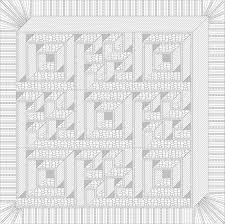 23 best Labyrinth images on Pinterest | 3d quilts, Walks and Carpets & Image result for labyrinth walk quilt pattern free Adamdwight.com