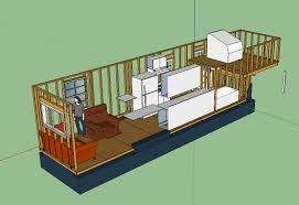tiny house layout transpa starboard wall