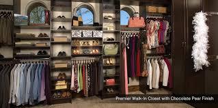 custom walk in closets. walkin closets white custom closet chocolate pear walk in