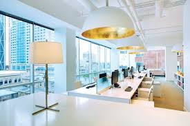 high tech office design. Cubicles And Drab Offices Are Out, High Tech With Novel  Amenities In. Not Only The Changing Trends In Office Design Meant To Enhance
