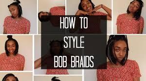 Box Braid Hair Style how to style bob braids box braid hairstyles feminaomi youtube 1728 by wearticles.com
