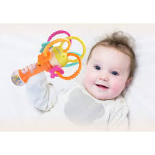Musical Light For Babies Hanmun Baby Rattle Teething Light Up Bpa Free Music Light Musical Baby Rattles Teether Stick Hand Newborn Infant 3 4 5 6 7 8 9 10 Months