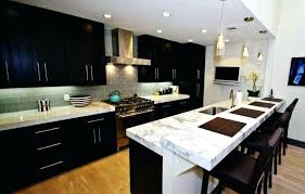 dark cabinets light countertops dark cherry cabinet with white ideas for adorable kitchen