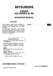 mitsubishi 4g93 dohc gdi manuals Wiring Diagram Symbols mitsubishi 4g93 dohc gdi workshop manual